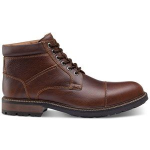 Johnston & Murphy Winstead Leather Cap-Toe Boots